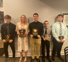Huntington Athletes Honored