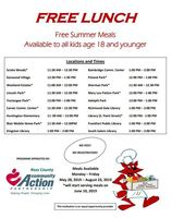 Summer Lunch Program at Huntington!