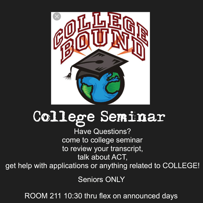 College bound flyer