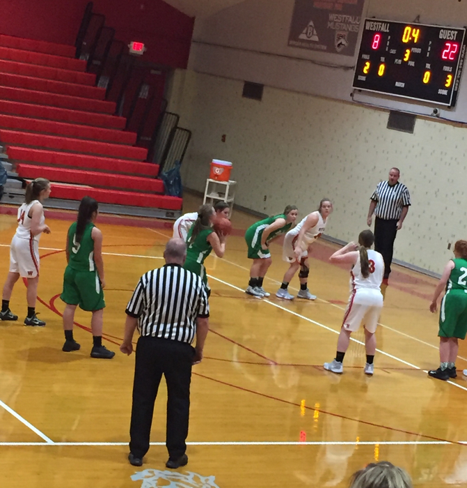 Huntington JV girls