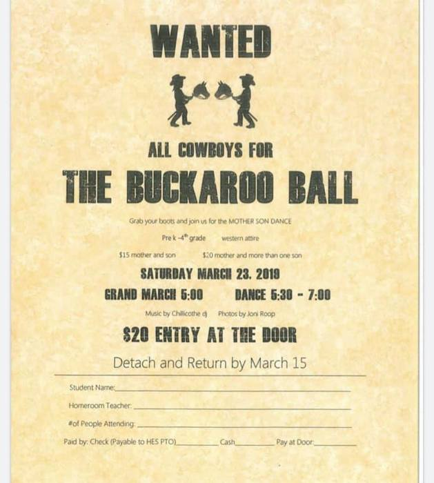Buckaroo Ball Flyer