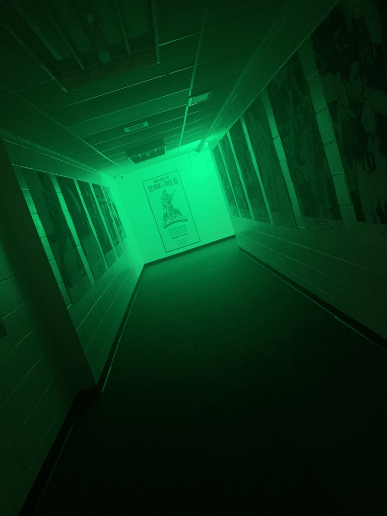 Weight room Hallway